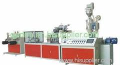 PE dripper irrigation pipe production line