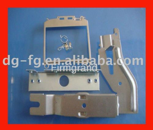 Sheet metal fabrication stamping part with Tin/Sn plated