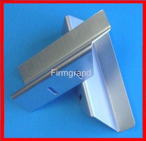 Aluminum sheet metal stamping parts with zinc plated