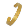 Fashionable Metal Bracelet with Gold Finish, Available in Various Colors and Styles