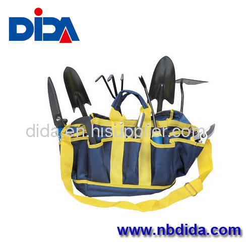 10pcs Garden Tools Kit in Canvas Bag
