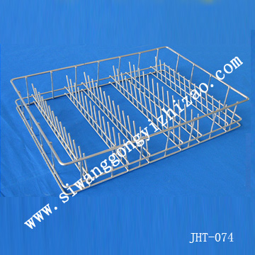 wire mesh medical cleaning basket