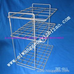 Wire mesh stainless steel rack