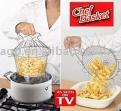 Stainless steel frying basket (manufacturer)