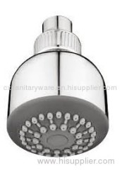 wall mounted overhead shower head