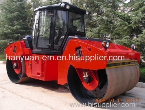 12ton double drum vibratory road roller