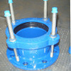 Universal flange adaptor for PVC pipe with DN80-300
