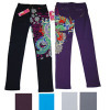 Lady's knitted fashion printed pants