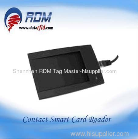 RDM Dual frequency mutiple card reader USB interface contactless desktop smart card reader for RFID solutions