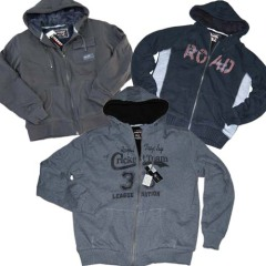 Men' s fleece sweat jacket