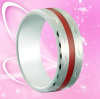 Western Style Wedding Ring Tungsten Carbide Gold Ring hot Sales