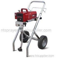 electric airless paint sprayer with wheels