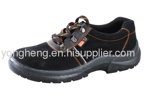 Suede leather Lightweight Safety Shoes