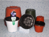 Plastic Flower Pot For Garden