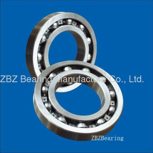 Double take the cover of deep groove ball bearing