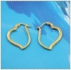 18k gold plated earring 1220023