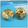 18k gold plated earring 1220171