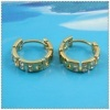 18k gold plated earring 1220133
