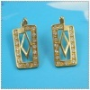 18k gold plated earring 1220320