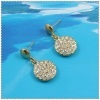 fashion 18k gold plated earring 1220574