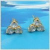 fashion 18k gold earrings 1220584