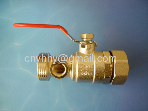 Brass ball valve is made from brass 57-3 and is used for water,oil and gas