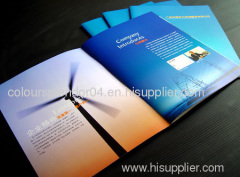Shenzhen professional business catalogue printing