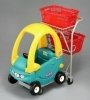 supermarket kids shopping trolley with toy seat