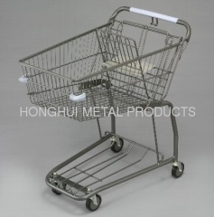 68L Grocery Store Shopping Cart