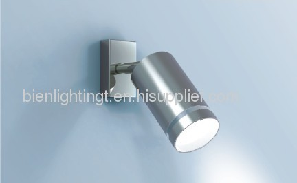 Surface Mounted Adjustable Single Wall Spot Lamp