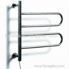 Curved Stainless steel Electric Heated Towel Rails