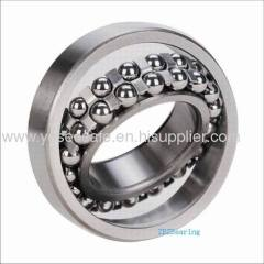 Tapered-hole double row self-aligning ball bearing