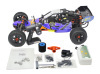 Displacement Baja RC Buggy 26cc wasteland tire with LED radio