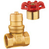 Brass lockable gate valves/brass gate valve/water valves/pipe fittings