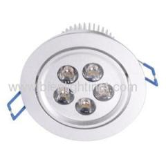 5pc 1W high power LED downlight
