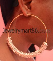 wholesale basktball wives earrings de-0008