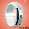 New Ring White Tungsten Ring