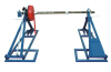 combined drum elevator with drum brake