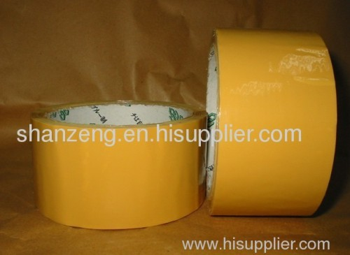 yellow packing tape
