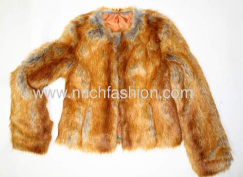 Faux fur ladie's jkt