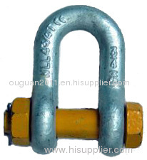 Chain Shackle Bolt Type With Safety Pin & Nut G2150