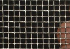 Electric galvanzied square wire mesh