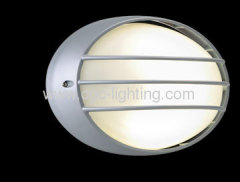 die- cast aluminum outdoor bulkhead light
