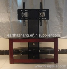 hot sell lcd glass tv stand xyts-262