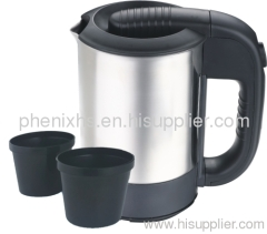 500ml stainless steel electric travel kettle
