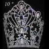 10inches Height Large Pageant Crown