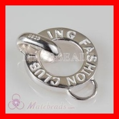 Fashion sterling silver stamped pendants wholesale