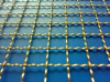 PVC Coated Crimped Wire Mesh Fence