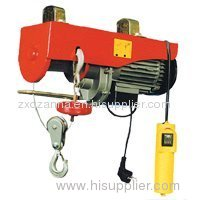 mini type electric wire rope winch