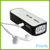 USB Hand Cranking FM Radio / Flashlight, led flashlights, dynamo flashlights